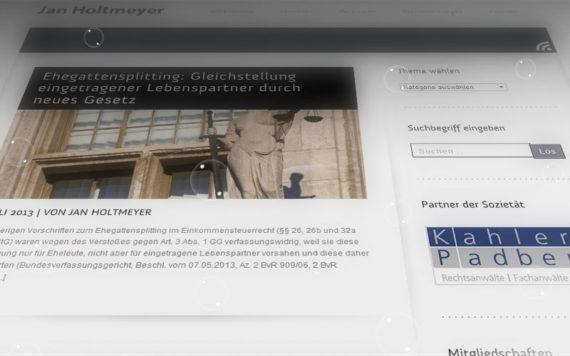 Anwalt Website Jan Holtmeyer 4