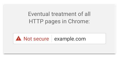Chrome 56 Warnung